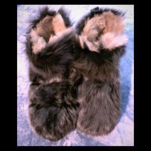 Stuart Weitzman Furry Janica Boots